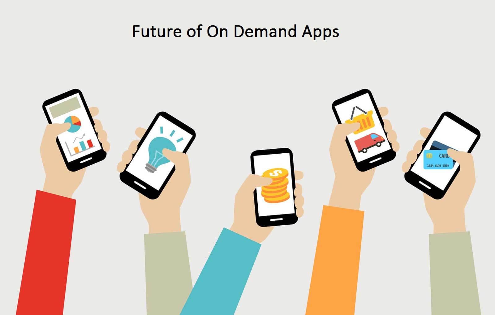 Mobile App Development: On-demand App Trends 2017